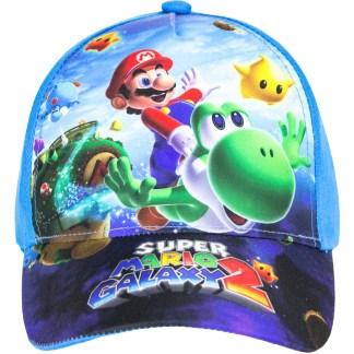 "Super Mario Galaxy 2 Cap Blauw ""maat 52"""