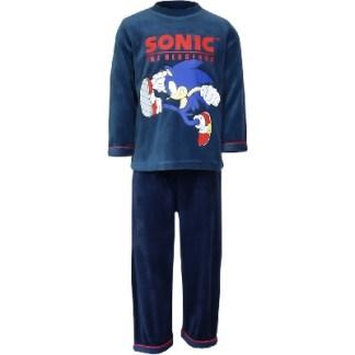 Sonic pyjama run blauw