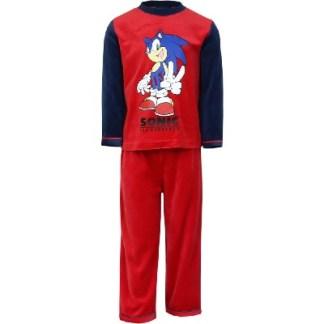 Sonic pyjama run rood maat 3jr. Nieuw!