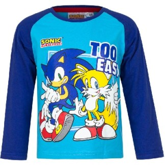Sonic Shirt Too Easy blauw