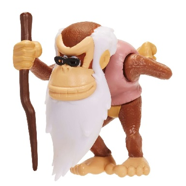 "Cranky Kong figuurtje 6cm ""world of Nintendo"""