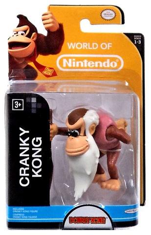 "Cranky Kong figuurtje 6cm ""world of Nintendo"""