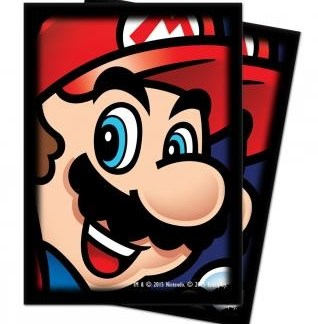 Super Mario kaart beschermers ( 25 stuks)