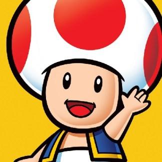 "Super Mario Canvas Print ""Toad"""