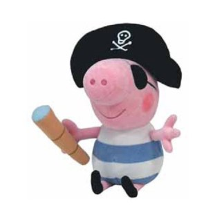 George Piraat Knuffel 23cm