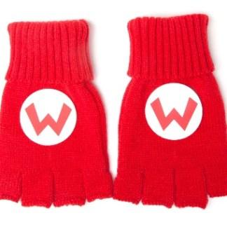 Super Mario vingerloze handschoenen