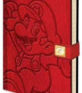 notitieboek Super Mario