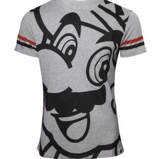 Nintendo - Mens t-shirt grey melange