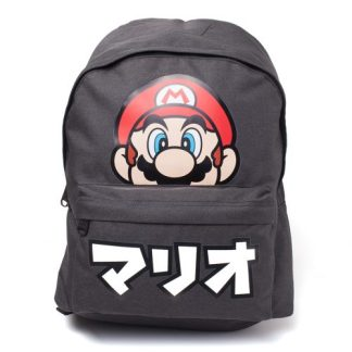 Nintendo Super Mario - Japanse letters rugtas zwart