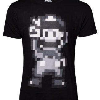 Super Mario T-shirt heren 16 Bit Mario Peace maat S