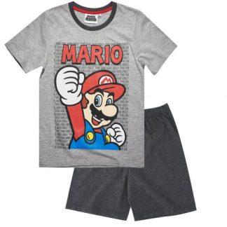 Nintendo-Super Mario Bros Pyjama grijs