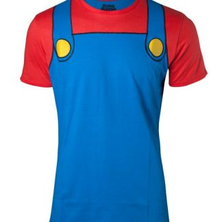 NINTENDO - SUPER MARIO COSPLAY HEREN T-SHIRT
