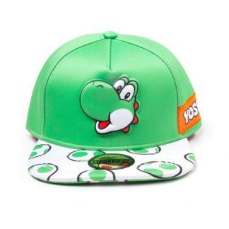 SUPER MARIO - YOSHI PRINT SNAPBACK CAP