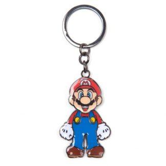 Super Mario - Mario bewegende metalen sleutelhanger