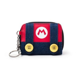 SUPER MARIO - MARIO SMALL ZIPPER DAMES PORTEMONNEE