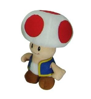 Nintendo - Super Mario Bros Toad knuffel - pluche 20 cm