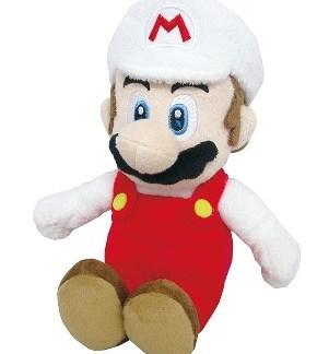 Super Mario Bros - Fire Super Mario Pluche 20 cm