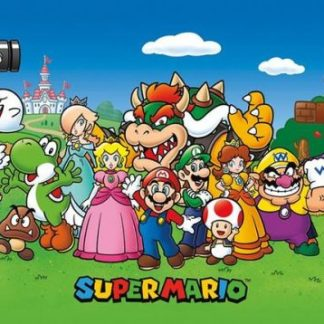 uper Mario - Super Mario together with his friends XL Poster