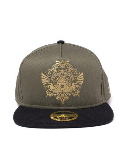 ZELDA - GOLDEN TRI-FORCE LOGO SNAPBACK CAP