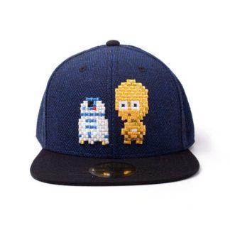 STAR WARS - PIXEL C-3PO & R2-D2 SNAPBACK - CAP