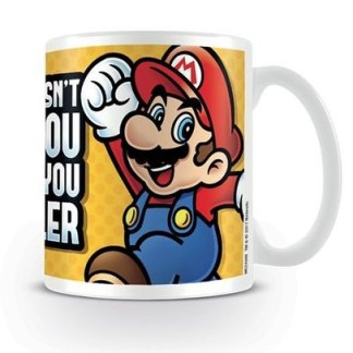 Nintendo - Super Mario Makes You Smaller - Beker