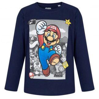 Super Mario - Super Mario T-shirt Jump Star lange mouw maat 116