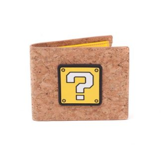 Super Mario - Question Mark Box kurken bifold portemonnee