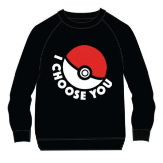 POKEMON - I CHOOSE YOU FOR KIDS SWEATER