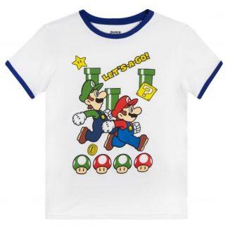Nintendo - Super Mario t-shirt kids let's a go wit