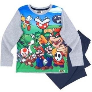 Super Mario Pyjama Kids