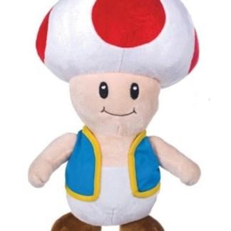 Nintendo - Super Mario Bros Toad knuffel - pluche 30cm