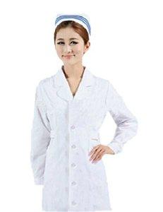 Ninimour – Blouse Blanche de Chimie Pour Femmes et Hommes- vêtement d'Infirmière