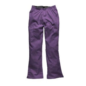 Pantalon medical femme Dickies avec taille elastique(HC53102) (XL, Iris)