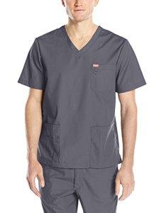 Blouse médicale, Orange Standard, Unisexe «Balboa» (G3107-) (S, Gris charbon)
