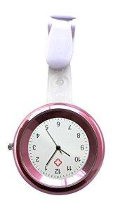 Ellemka JCM-2103 – Montre Infirmière Couleur Cadran Rose