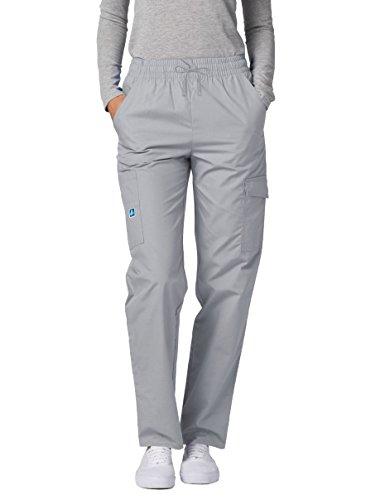 Adar Universal Pantalon Médical Femme – Pantalon Cargo Fuselé – 506 – Silver Gray – 2X