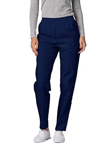 Adar Universal Pantalon Médical Femme – Pantalon Fonctionnel Cargo Fuselé – 503 – Navy – XS