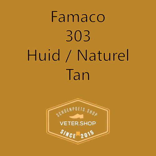 Famaco leer onderhoud Kleur 303 Tan