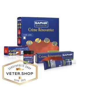 Saphir Creme Renovatrice kleurhersteller voor glad leer