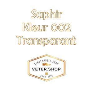 Saphir 002 Transparant