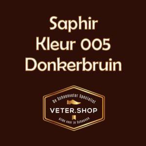 Saphir 005 donker bruin