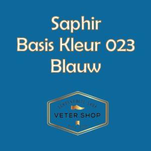 Saphir 023 blauw