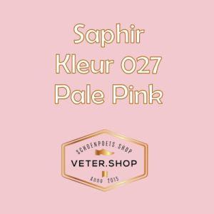 Saphir 027 Zacht roze