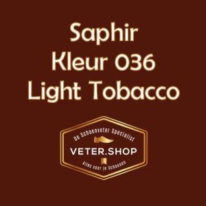 Saphir 036 licht tabak bruin