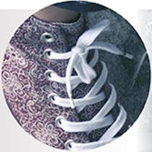 Ringpoint 63 platte sport schoenveters