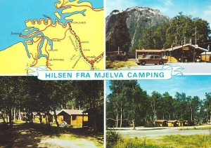 Åndalsnes. Mjelva Camping. ca 1970.