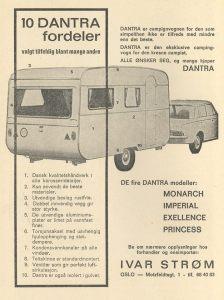 Annonsa for danske Dantra fra 1967. BL