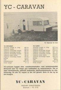 Annonse for YC fra Elverum 1967. BL