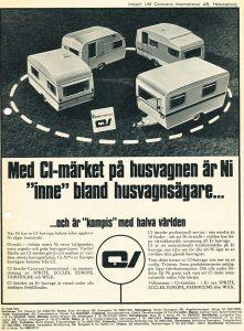 CI annonse fra 1968. BL