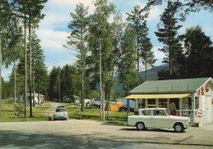 Campingen på Sandvatn, 60-tallet.